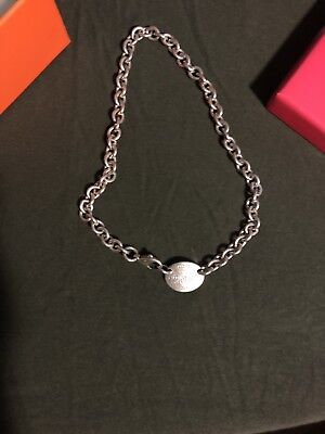 Tiffany & Co. Sterling Silver Return to Tiffany 925 Necklace / Chain