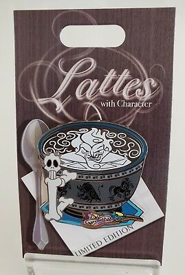 Disney Hades (Hercules) Lattes With Character 10Th In Series-Oct.  2018 Le Pin