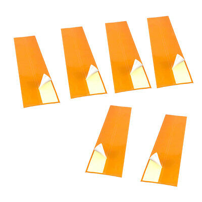 """Durable Archery Arrow Adhesive Stickers Wraps 10.6/"""" Long 1/"""" Wide Pack of 36"""