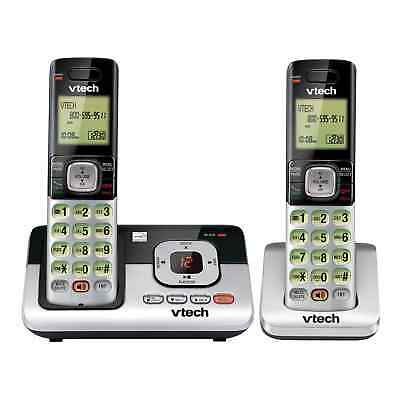 NEW! VTECH CS6829-2 Cordless Phone Answering System with 2 Handsets Caller ID