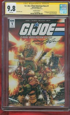 G.I.Joe Real American Hero 1 CGC SS 9.8 Neal Adams Convention Ed Homage Variant