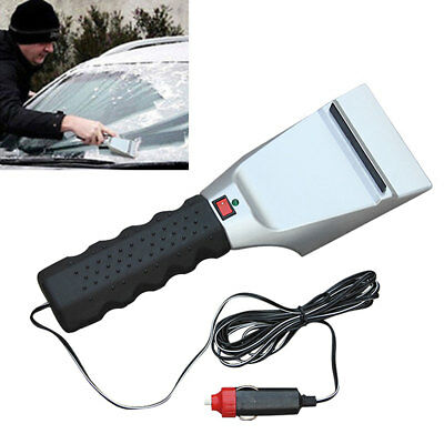 12V Car Auto Electric Heated Windshield Ice Snow Scraper Melter Cleaning Shovel