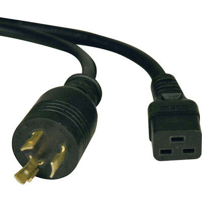 Tripp Lite 10ft Power Cord Extension Cable L6-20P to C19 for PDU/UPS Heavy Duty