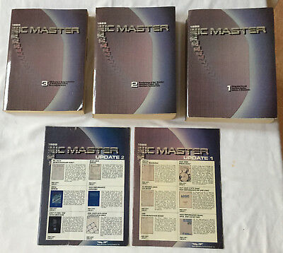 1989 IC Master Book Set with Supplements