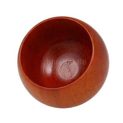 High Quality Wooden Shaving Brush Bowl Man's Shave Cream Soap Cup Male Face E7W4