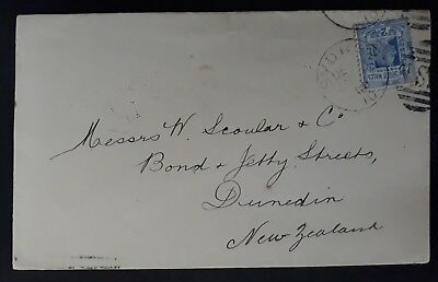 1900 NSW Australia Commercial cover ties 2d Ultramarine Definitive postage stamp