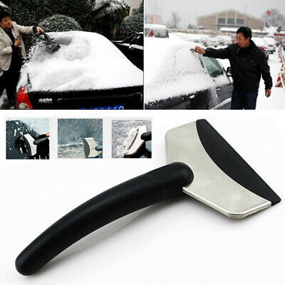 1x Ice Scraper Soft Grip Foam Handle Windscreen Window Van Car Winter Snow Frost