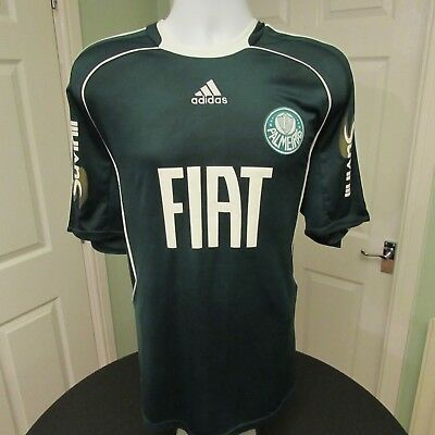 2008-2010 Palmeiras Home Football Shirt, Brazil, Soccer Jersey, XL, Excellent
