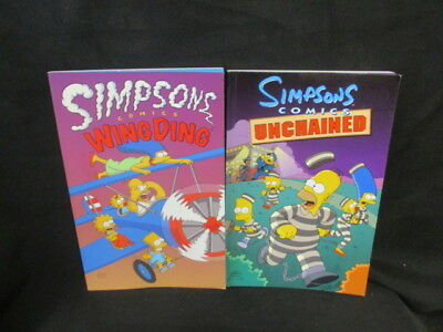 (Very G)2 Simpsons Comics Wing Ding & Unchained, , , , Perennial, Paperback