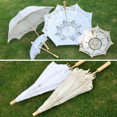 Retro Handmade Parasol Wedding Bridal Decor Umbrella Retro Photography Tool HOT.