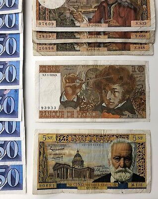 24 x Mixed Banknote Collection - FRANCE. (2209)