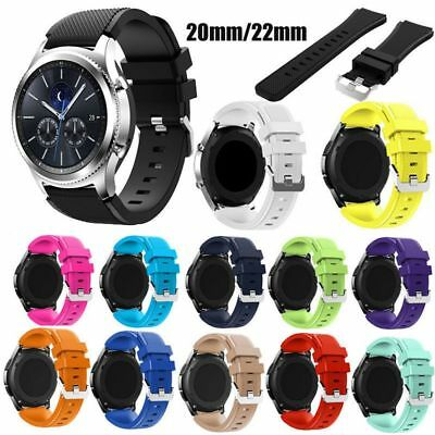 Replacement Silicone Wrist Straps Watch Band for Samsung Gear S3Frontier Classic
