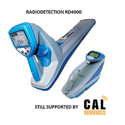 Service & Calibration - Radiodetection RD4000 Still Supported