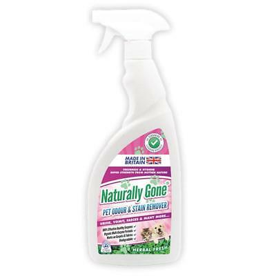 Naturally Gone Pet Odour and Stain Remover 750ml