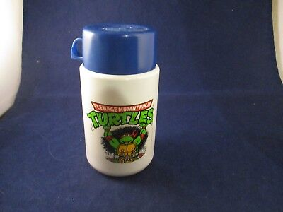 Teenage Mutant Ninja Turtles Thermos Retro 1990 Raphael TMNT w/ Cap