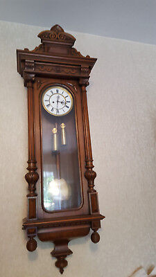 Franke & Gronemann Vienna regulator clock
