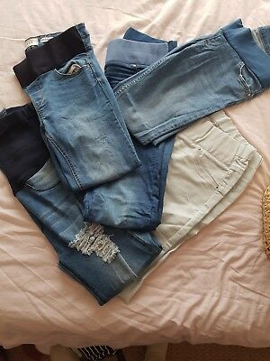 Size 8-10 Maternity Jeans Bundle New look and Matalan. Fashionable