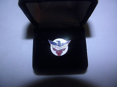 Collectible Continental Airline Lapel Tack Pin Airplane Pilot Fa Christmas Gift