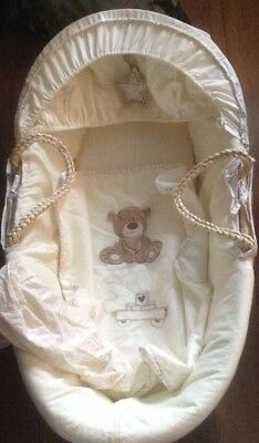 Mothercare nursery bedding Moses Basket Set