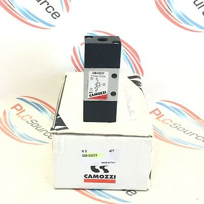 Camozzi  338-033Tf Series 3 Double Air-Pilot Operated Valve
