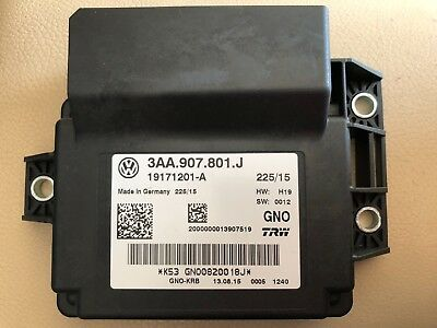 New Genuine VW Parking Brake Control Unit Passat B6 B7 CC Tiguan Q3 3AA907801J