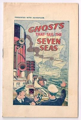 ADVENTURE COMIC - Free Gift Mini Comic with all inserted Stamps - c1930s (1)