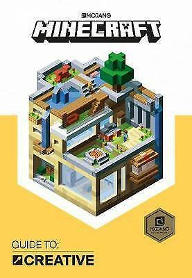 Minecraft Guide to Creative: An Official Minecraft Book 2017 Mojang Brand New