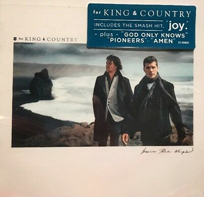 For King & Country - Burn The Ships [CD New]