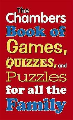 Rainy Day: Games, Puzzles and Quizzes for All the Family by Chambers (Paperback)