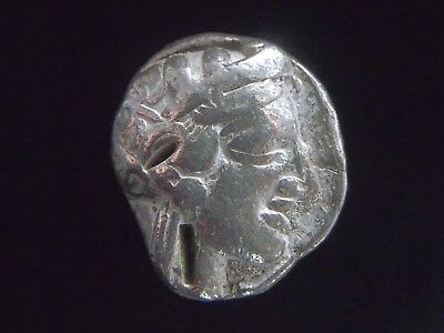Greek Silver Tetradrachm from the City of Athens in Attica, Owl reverse AC0155