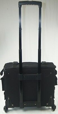 Crop In Style LX Scrapbook Retreat Carry All Bag, Tote, Case w/ Wheels & Handle