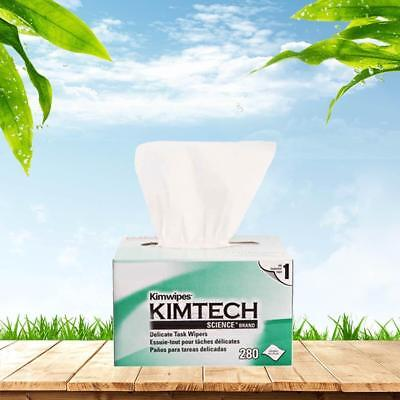 10 boxes Kimberly-Clark Kimtech Science Kimwipes Delicate Task Wipers in White
