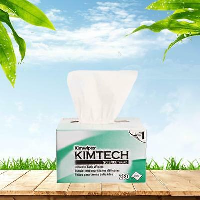 6 boxes Kimberly-Clark Kimtech Science Kimwipes Delicate Task Wipers in White
