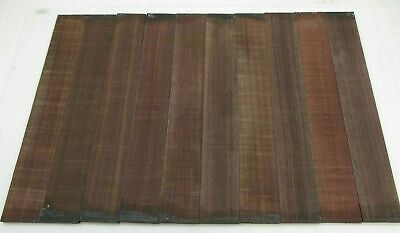 (10) Lot of 10 GUITAR LUTHIER ROSEWOOD FINGERBOARD BLANK #5  21 X 2 15/16 X 3/8""