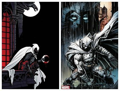 Moon Knight 200 Cover A & Finch Variant Set - Presale - 10/24 - Hot!