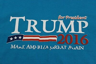Trump Large blue MAG shirt plus bonus black Guggenhein 'Russia!' shi