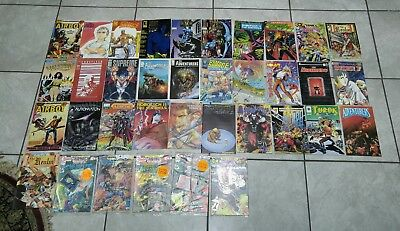 Large Comic Book Lot Lots Of First Editions