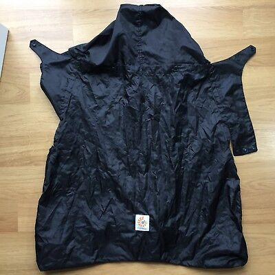 Ergobaby Baby Carrier Rain Weather Cover Black