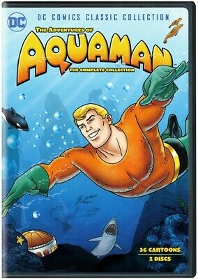 The Adventures of Aquaman: The Complete Collection (DC) [New DVD] 2 Pack, Eco