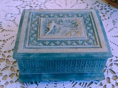 Incolay Stone Jewelry Box Plays Disney Sleeping Beauty Once Upon A Dream