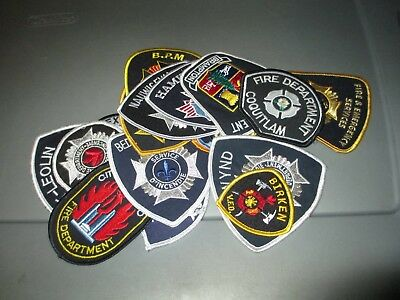 18 Different CANADA City & County Fire Rescue FIRE Dept Patches #2