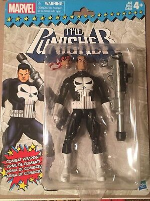 Hasbro Marvel Legends Toybiz Super Heroes Retro Card Punisher Figure New
