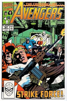 Avengers #321   Fn+/ Vf- American Marvel Comics 1990 The Crossing Line  1