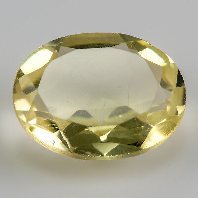 2.92ct Large Citrine. An oval cut yellow gemstone. £1 No reserve.