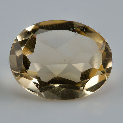 1.53 ct Citrine. An oval cut yellow gemstone. £1 No reserve.