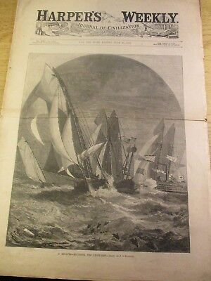 Harper's Weekly July 30, 1881 With Three Thomas Nast Illustrations