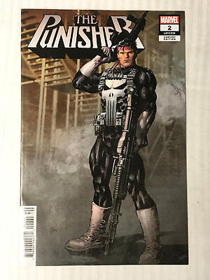 Punisher (2018)#2 - 1:25 Variant VF/NM - Mike Deodato Cover! Auction 1