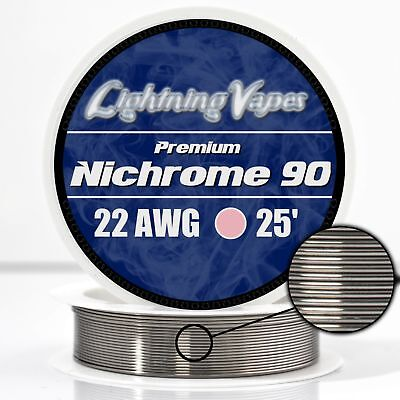 22 AWG Nichrome 90 Competition Wire 25' - N90 wire 22g GA 0.64 mm 25 ft