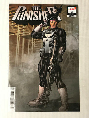 Punisher (2018)#2 - 1:25 Variant VF/NM - Mike Deodato Cover! Auction 2
