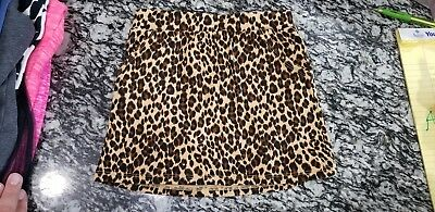 Old Navy Leopard Skirt 4t